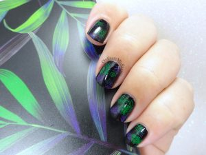 Born Pretty Store review-LeMooc phone cover nail art
