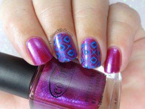 Square up nail art