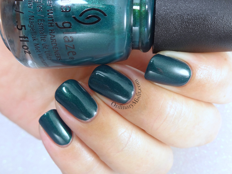 China Glaze - Baroque jungle