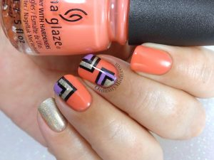 I see you squared nail art