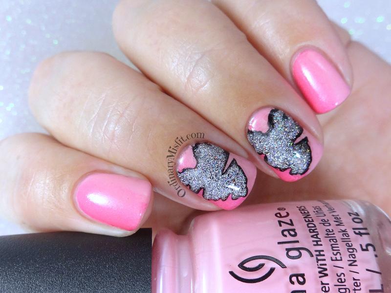 Pink sketchy heart