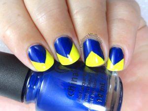 52weekchallenge - Blue & yellow