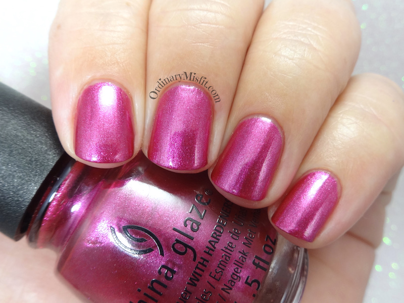 China Glaze - Rose my name