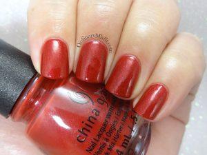 China Glaze - Santa's side chick glossy