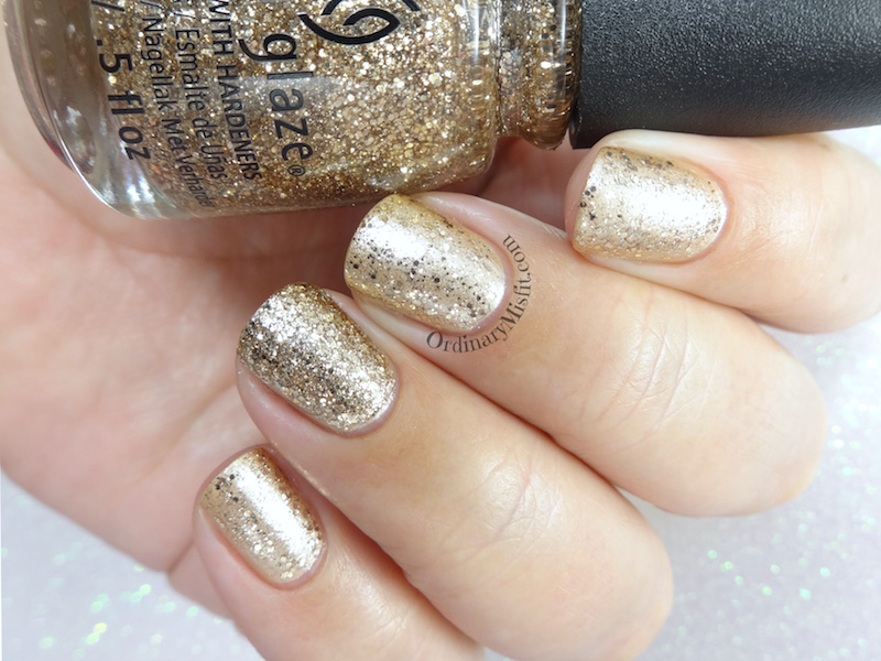 China Glaze - Big hair & bubbly 2