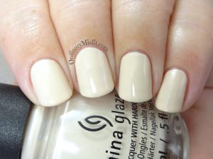 China Glaze - 1 Bourgeois beige