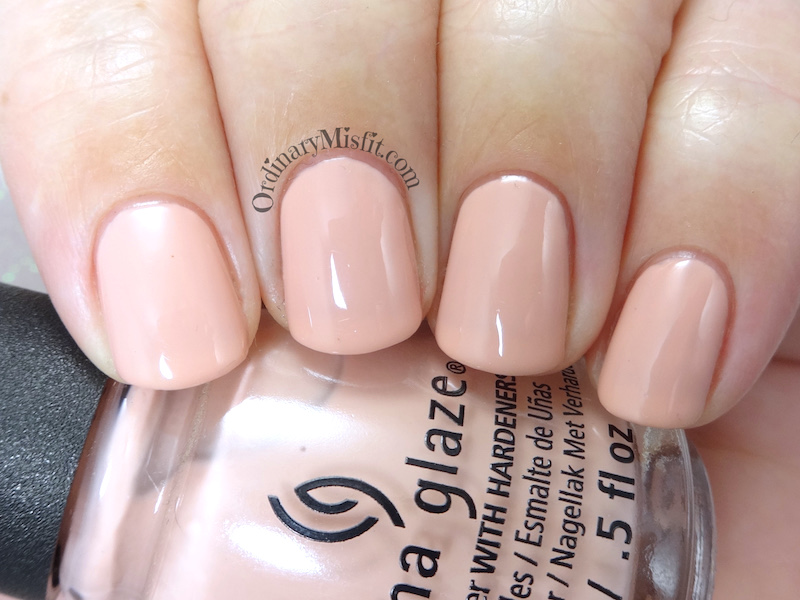 China Glaze - 5 Don't make me blush
