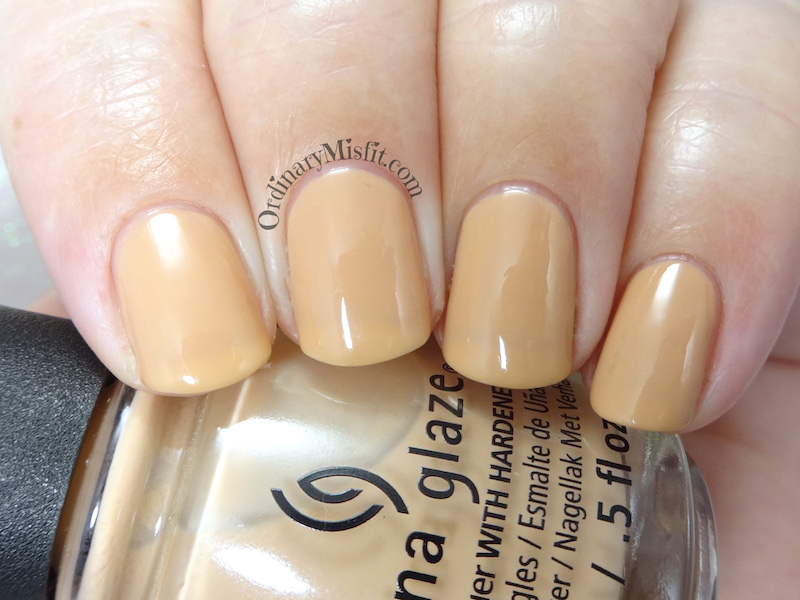 China Glaze - 7 A whole latte fun!