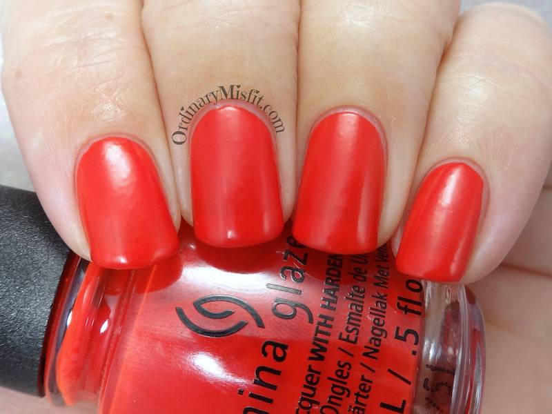 China Glaze - Flame-boyant