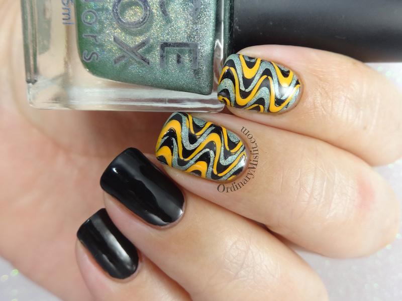 Groovy Swirls Nail Art 3 Ordinarymisfit