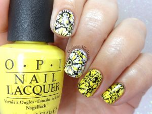 31DC2018 Day 3- Yellow nails