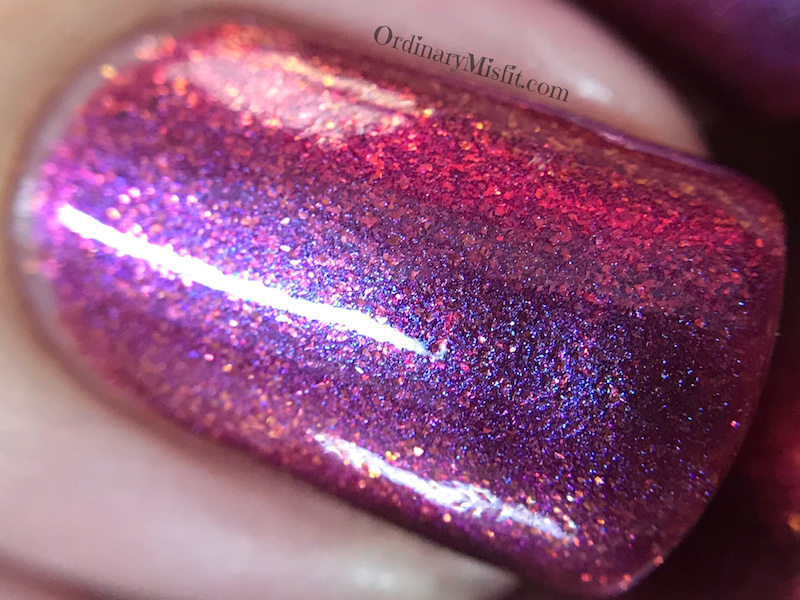 Dollish Polish - Dracula macro