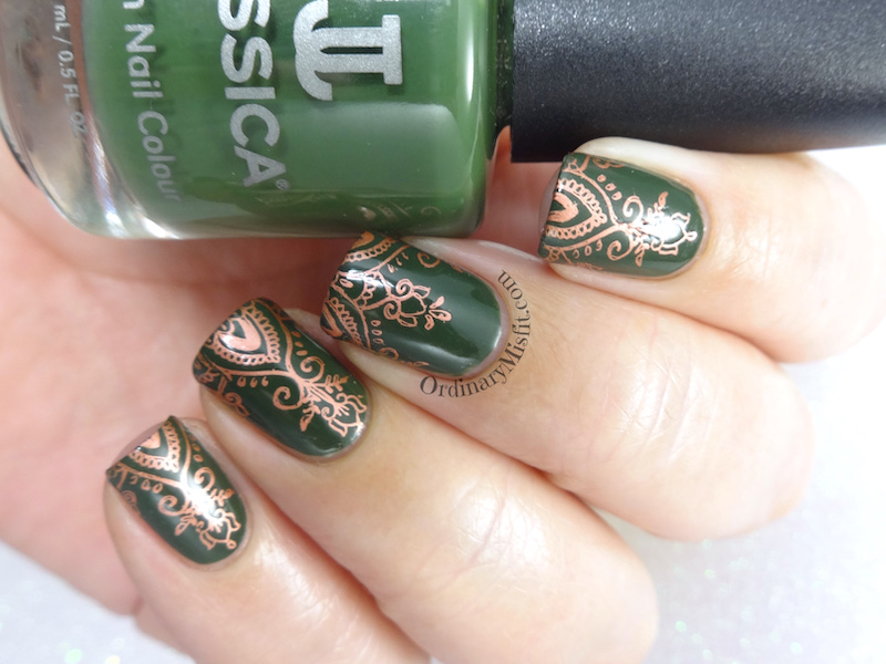 BPS Stamping plate review Mandala S002 glossy