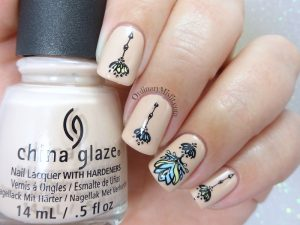 Born pretty Store review - Spring garden L003 stamping plate