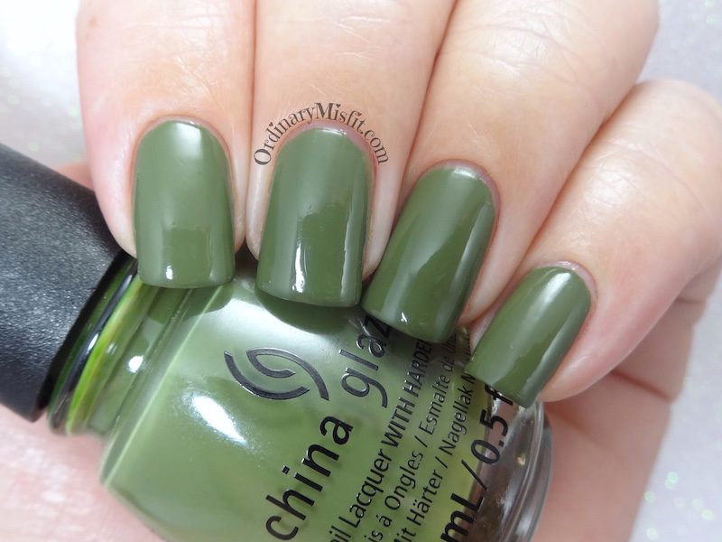 China Glaze - Central parka