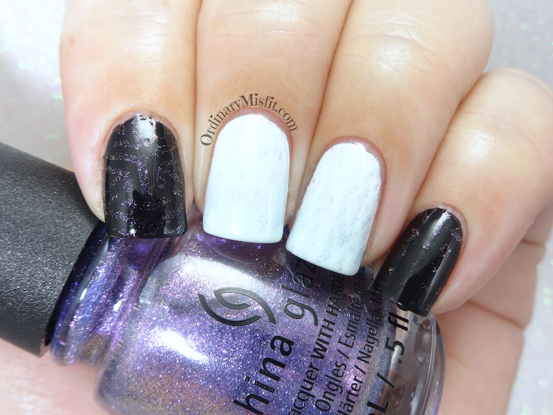 China Glaze - Don't mesh with me