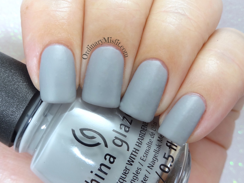 China Glaze - Pleather weather