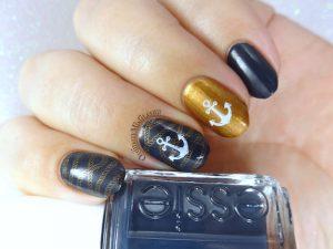 Naughty-cal nail art