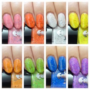 Dollish Polish - A world of pure imagination collection collage 2