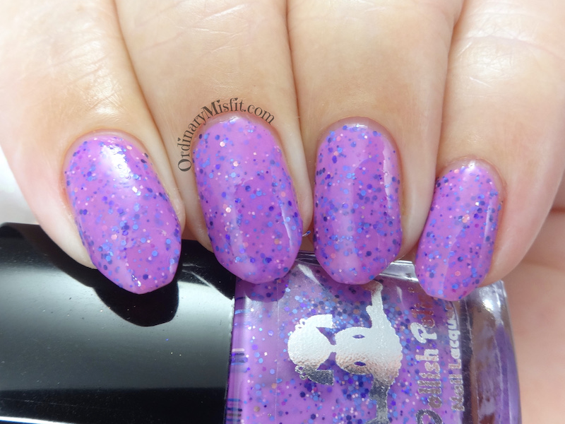 Dollsih Polish - Violet! You're turning violet, violet!