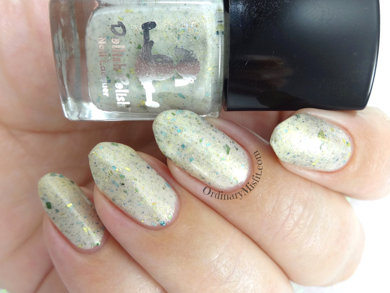 Dollish Polish - Breathe sunflower 3 to the right 4 to the left rainbow 450