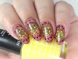 Born Pretty Store review - Arab passion L001 stamping plate