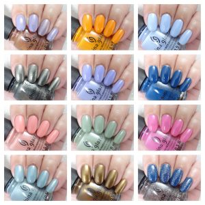 China Glaze The arrangement collection collage