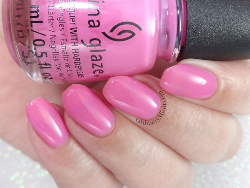 China Glaze - There she rose again