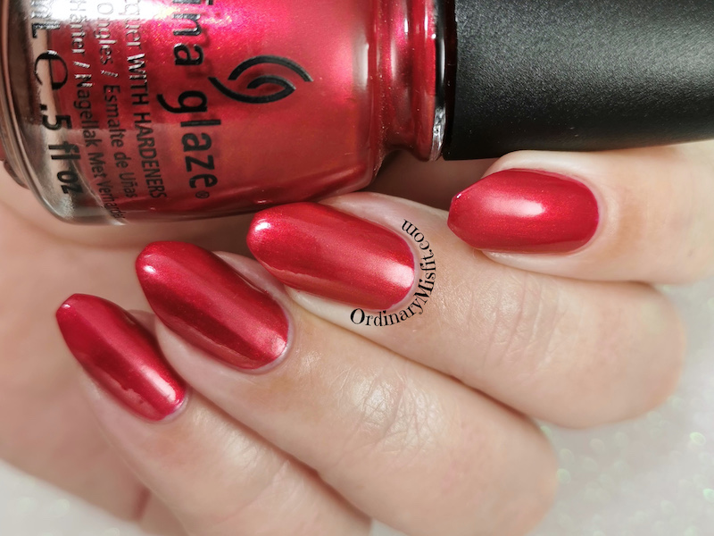 China Glaze - Cranberry splash