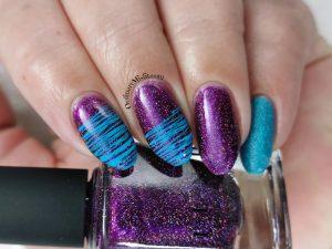 Week 25 - Blue & purple