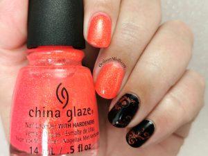 Week 27 - Orange & black