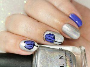 Week 31 - Purple & silver
