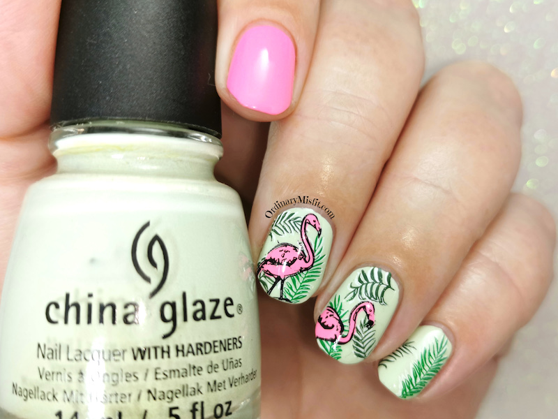 Polished pretties monthly mani - Juanitas choice