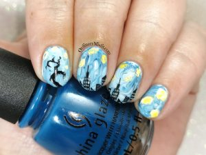 Polished pretties monthly mani - Briget's choice