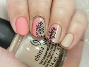 Pink and nude twigs