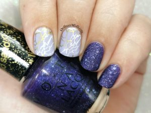 Born pretty store review - Stamping plate Nicole Diary L12 look 1