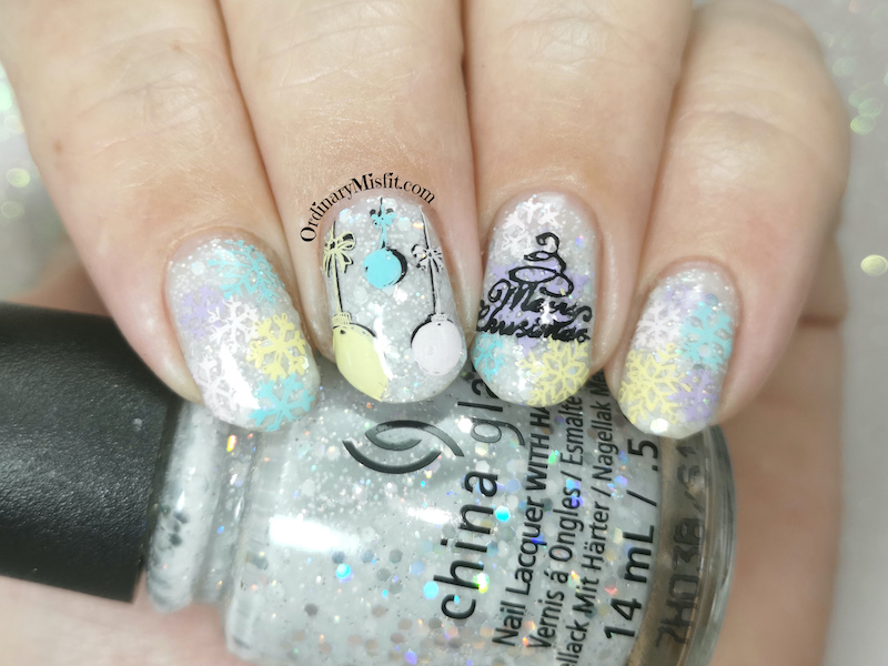 Polished prettties monthly mani - Thea's choice