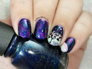 Polished pretties monthly mani - Angela's choice