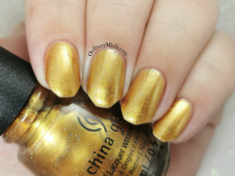 China Glaze - Gold mine your business