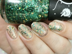 China Glaze - a grouchy new year topper