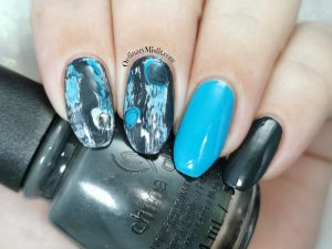 Polished pretties monthy mani - Juanita's choice