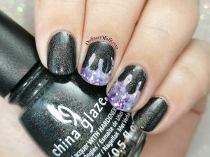 Polished pretties monthly mani - Renita's choice.