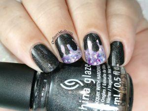 Polished pretties monthly mani - Renita's choice.